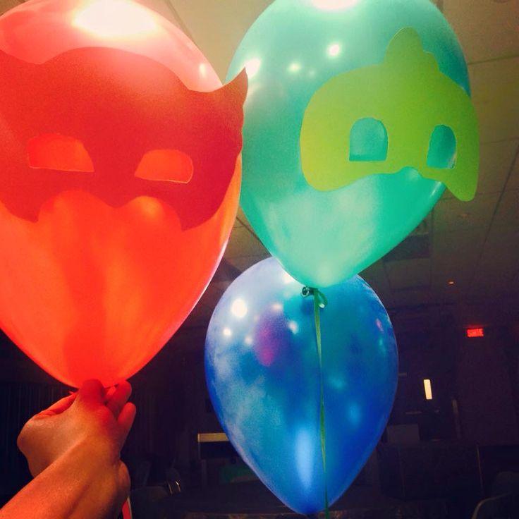 Super hero baloon mask #pjmasks