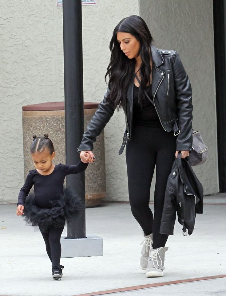 Kim Kardashian West and North West