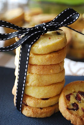 lemon polenta cranberry cookies #desserts #cookies #lemons # ...