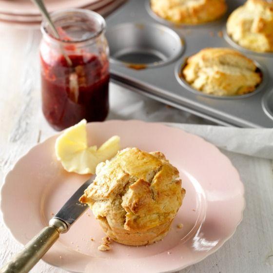 Briochemuffins - Serveer deze glutenvrije muffins met rood fruit voor een frisse touch. #recept #Pasen #JumboSupermarkten