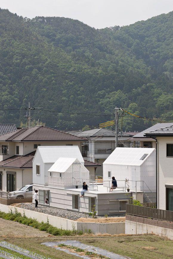 JA+U : House in Yamasaki by Yo Shimada ©Shinkenchiku-sha