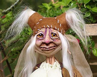 OOAK Goblin, Grandmother cook