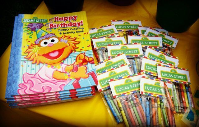 "Photo 1 of 24: Sesame Street Party / Birthday ""Lucas' 3rd Birthday on Lucas Street"" 