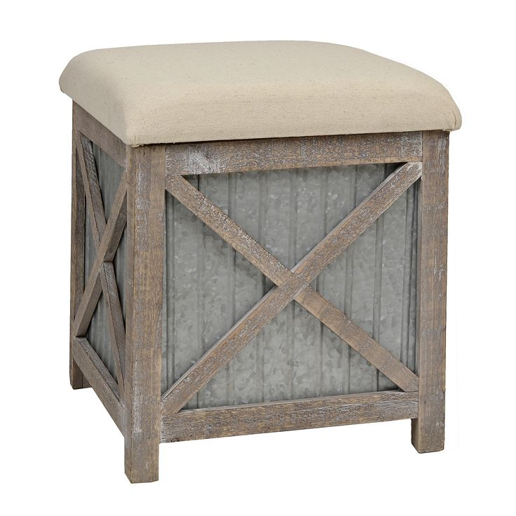 Best 25+ Rustic ottomans and cubes ideas on Pinterest