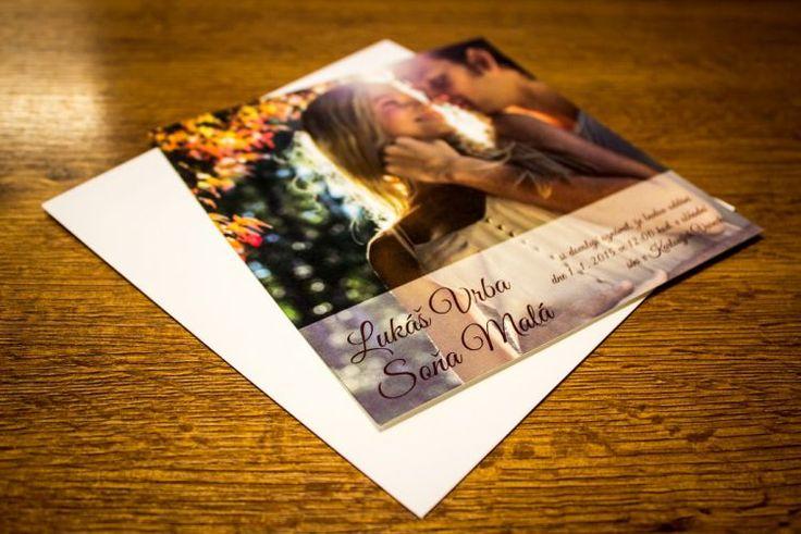 svatební oznámení s fotkou - Hledat Googlem