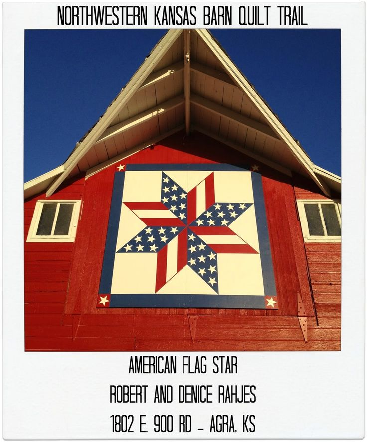 Snapshots of a Kansas Farm: North Central/Northwestern Kansas Barn Quilt Trail