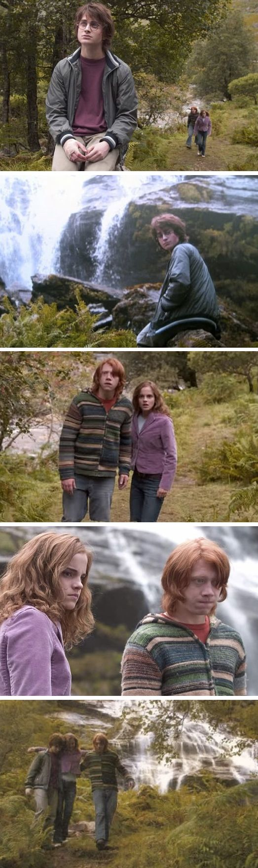 Harry Potter Deleted Scenes: Harry Potter and the Goblet of Fire | Ron and Hermione find Harry and comfort him after the Triwizard Tournament.