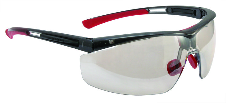 North Safety Adaptec Blue Frame Safety Eyewear. Visit our website for buying heavy duty safety glasses to protect your eyes at work