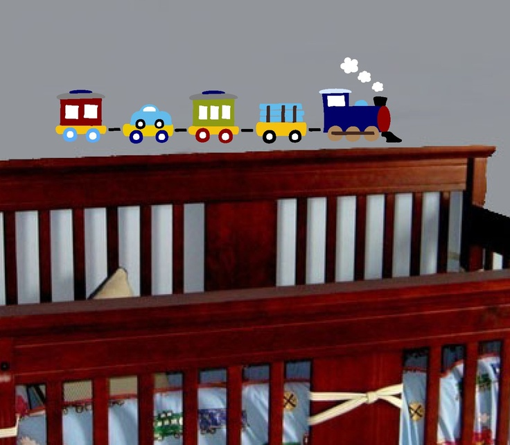 Choo Choo Train wall decal by XpressionsThatStick on Etsy, $45.00