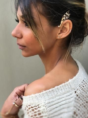 Ear Cuff - Pixie - by Drizzle Jewellery