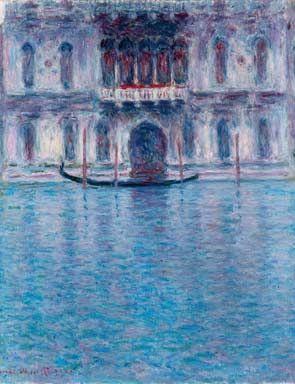 Claude Monet - Le Palais Contarini, Venise, 1908 - Oil on canvas