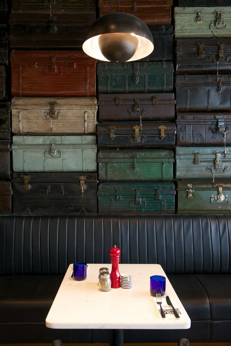 Luggage Wall