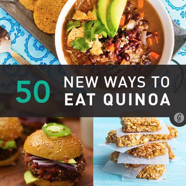 50 new ways to eat Quinoa