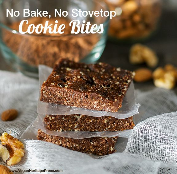 No Bake, No Stovetop Cookie Bites from The Abundance Diet by Somer McCowan