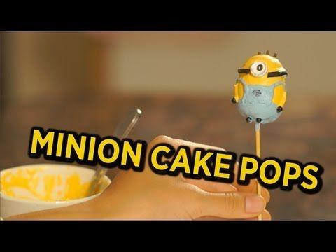 How to Make Minion Cake Pops