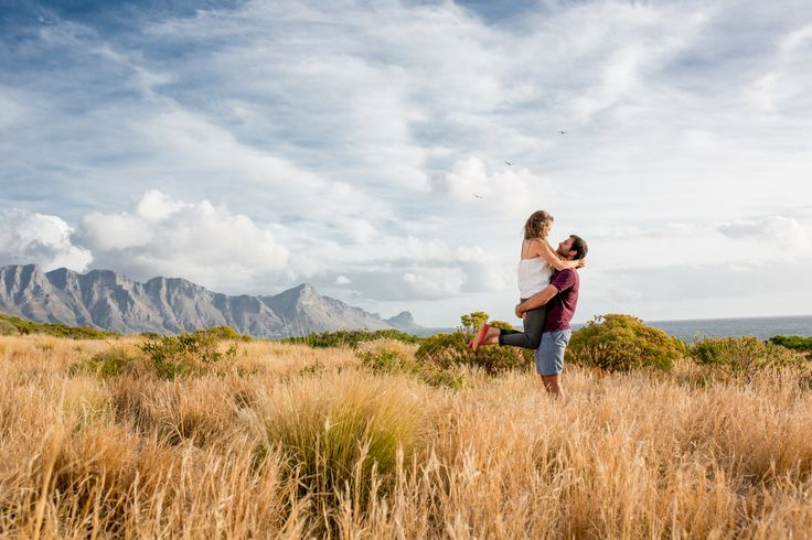 Blessed with the beautiful landscapes of the Western Cape in South Africa.  We were at the right place at the right time.  This photo sums up this couple, who has a great love for life, the beauty of nature and each other.