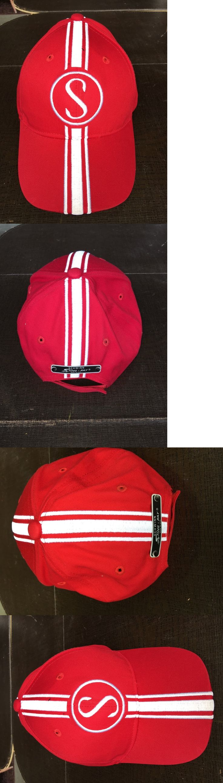Hats Caps and Headbands 158994: Schwinn Apple Krate Stingray Hat Red W White Baseball Cap -> BUY IT NOW ONLY: $36.75 on eBay!