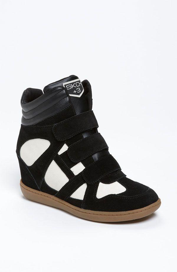 SKECHERS 'Raise Your Glass' Wedge Sneaker (Women) - http://womenspin.com/shoes/sneakers-comfort/skechers-raise-your-glass-wedge-sneaker-women/