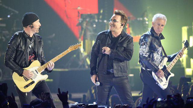 U2 rocks the vote in Las Vegas with Donald Trump sample · Newswire ...