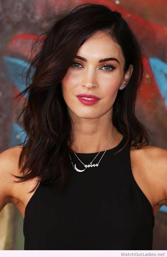 Megan Fox Easy Medium Hair Style