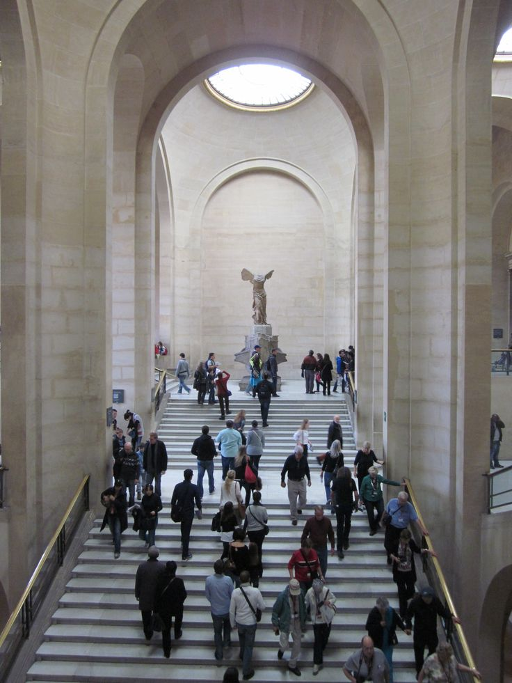 The Lourve Museum, Paris - where I was dragged endlessly as a child...
