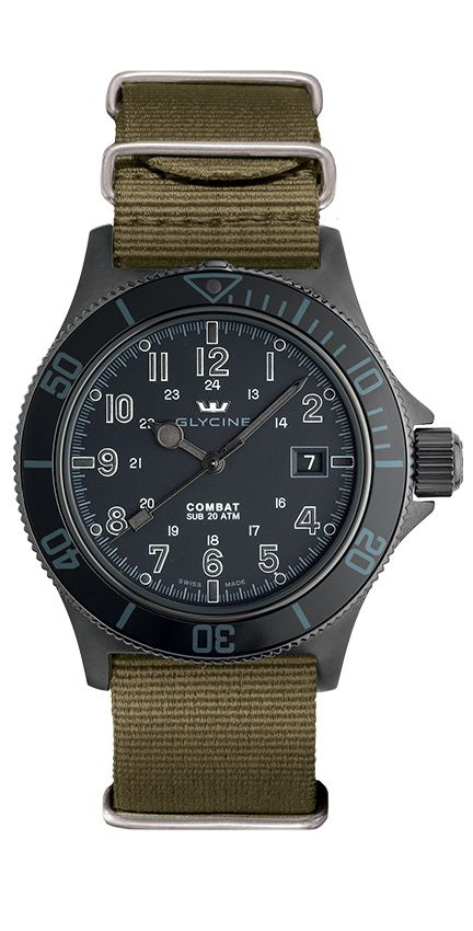 Glycine Combat SUB Stealth Automatic 3863.99AT N8-TB2 : $615!!!