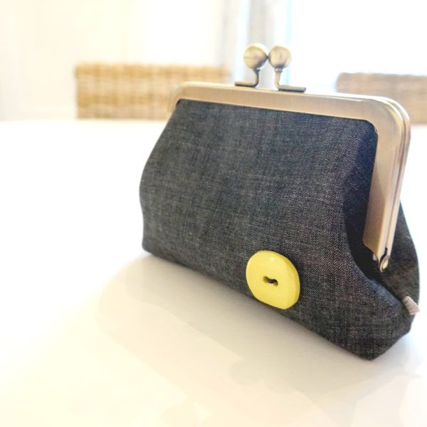 Carlacopia Handmade Denim Clutch