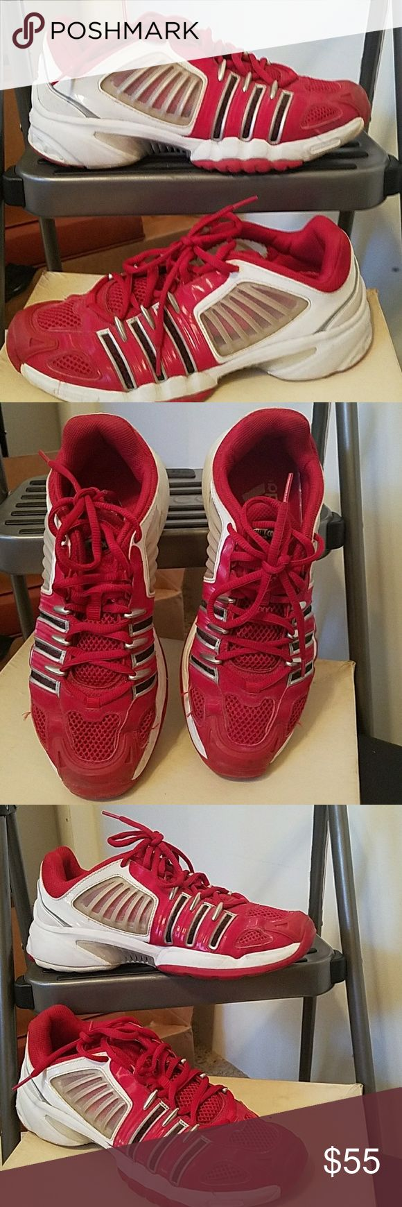 Adidas ClimaCool Red Athletic Shoes Awesome Adidas ClimaCool Red Athletic Shoes. Size 8.5. Super cool shoes Adidas Shoes Athletic Shoes