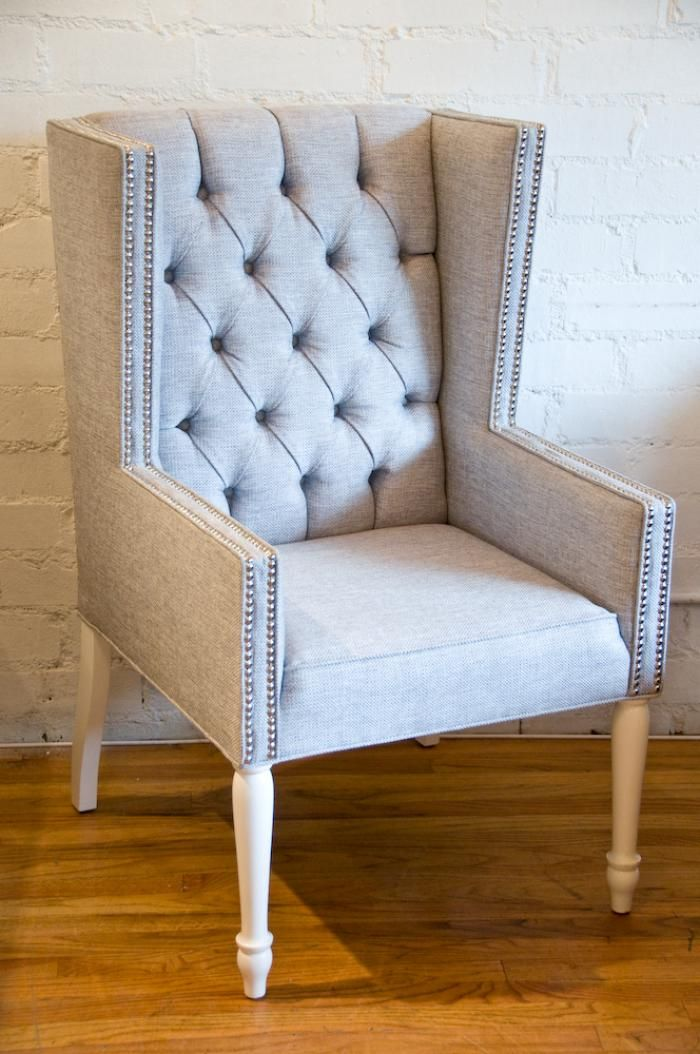 Tufted Mod Wing Dining Chair By Room Service 26 W 26 D 43 5 H 795 In Loveeeee With Chair Must Ha Tufted Dining Room Chair Dining Chairs Tufted Dining Chairs