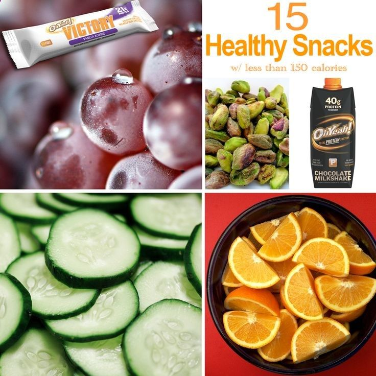 15 Healthy Snacks Under 150 Calories! Visit our blog for the full list of snack ideas!