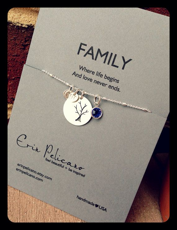 ADD LEAF PAIR Family Tree Necklace. Mommy Jewelry. Siblings. Grandmother. Mothers Day. Sterling Silver
