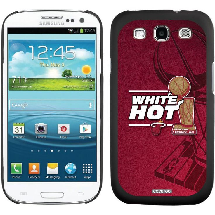 Miami Heat 2013 NBA Finals Champions Samsung Galaxy S3 Thinshield Case