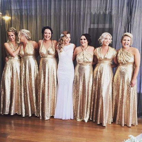 Stunning goddesses @tayteo with her glamorous bridal party in their Goddess By Nature champagne sequins multiway ballgowns  Stockist Just Bridesmaids and Formals www.goddessbynature.com  #goddessbynature #goddessbynaturebridalparty #oldhollywood #gatsbywedding #gatsbytheme #glamwedding #glamsquad #wedding #weddingday #weddinggown #weddinghair #weddingphoto #bride #bridal #bridetobe #bridalgown #bridalhair #bridesmaid #bridesmaidgown #bridesmaiddress #bridesmaidsdress #bridesmaiddresses