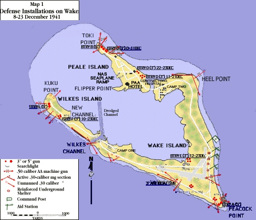Map: Wake Island  My daughter, Diane   I landed here in Dec, 1961 on our way to join our daddy in Japan.  MB