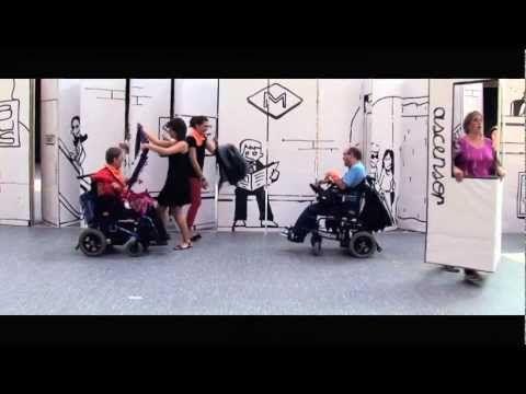 """SceneMob ECOM por la discapacidad, música: Macaco """"Mensajes del agua""""   Un emotivo video que promueve la igualdad de oportunidades de las personas con discapacidad física   Gracias a @rakel_ca por enviarlo"""