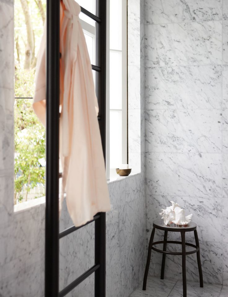 Bathroom profile: Marble & subway tiles - Homes To Love