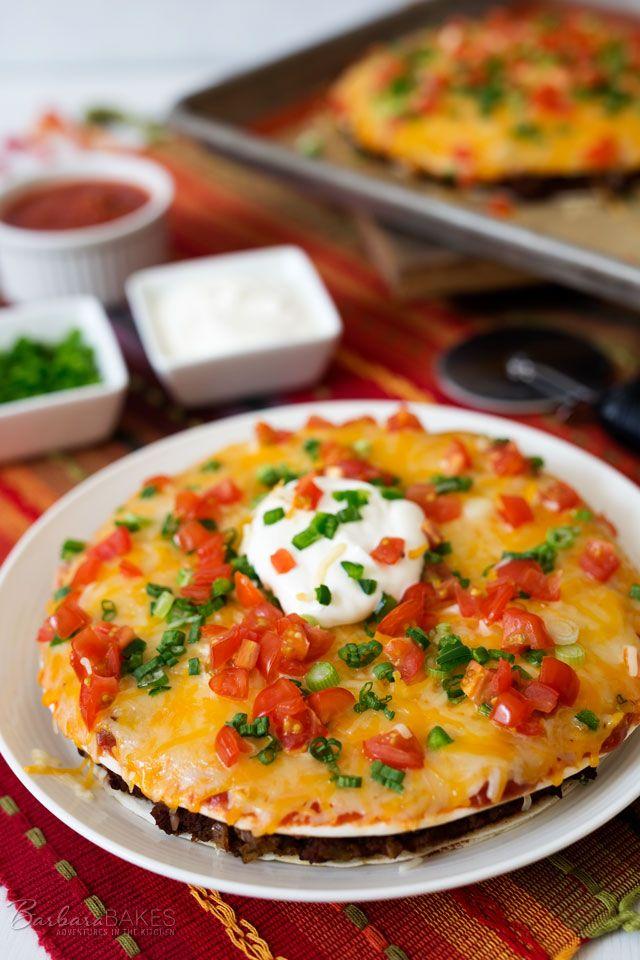 Mexican Pizza - Delish.com