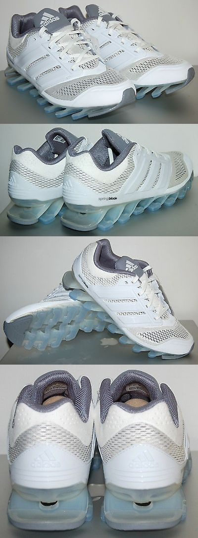 Youth 158954: Adidas Springblade Drive Running Shoes, C76709, White, Youth Size 7 -> BUY IT NOW ONLY: $80 on eBay!