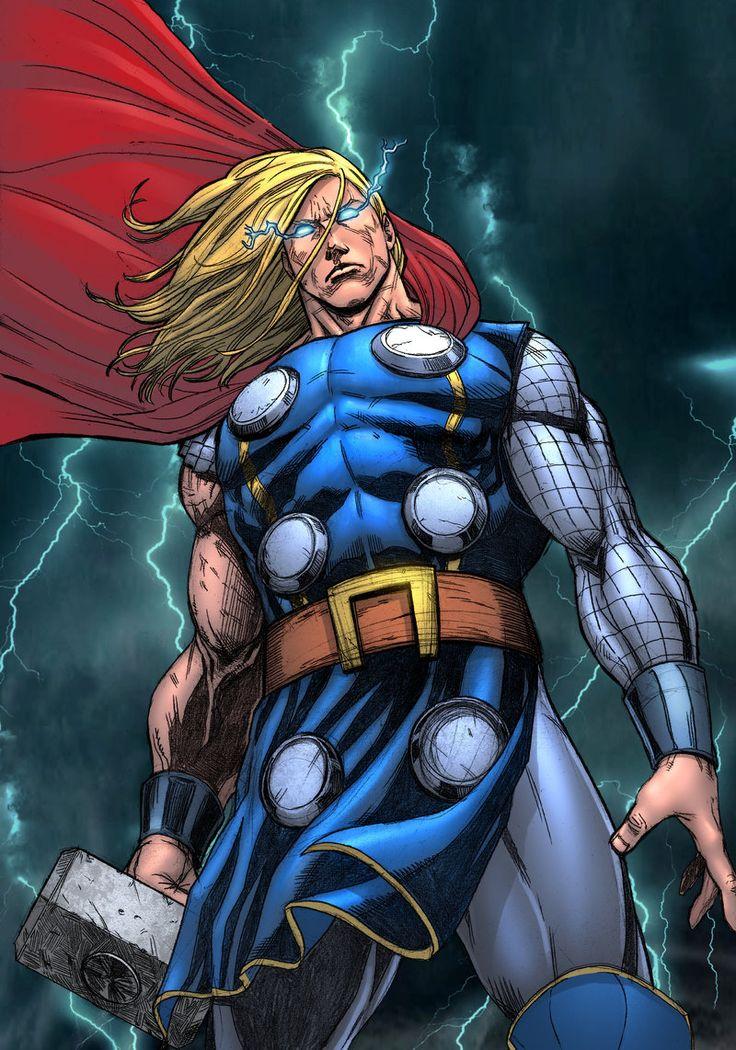 artwork gods lightning marvel - photo #35