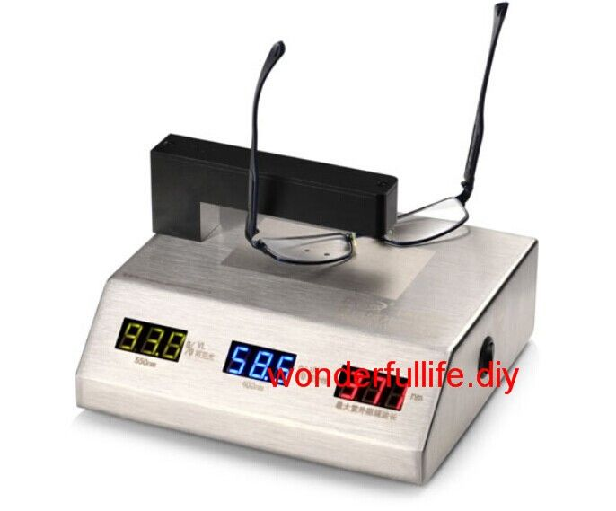 Eyeglass Lenses Meter Spectrum UV Infrared Light Transmittance Meter