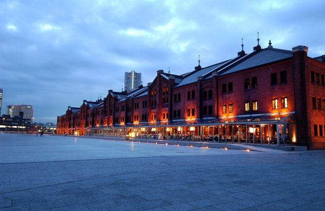赤レンガ倉庫 横浜 みなとみらい 夜景