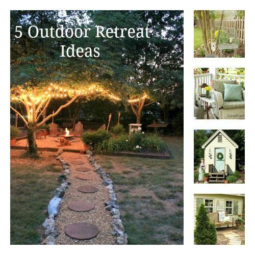 5 Outdoor Retreat Ideas @ DaisyMaeBelle