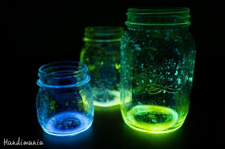 Glow Stick Fairy Jars