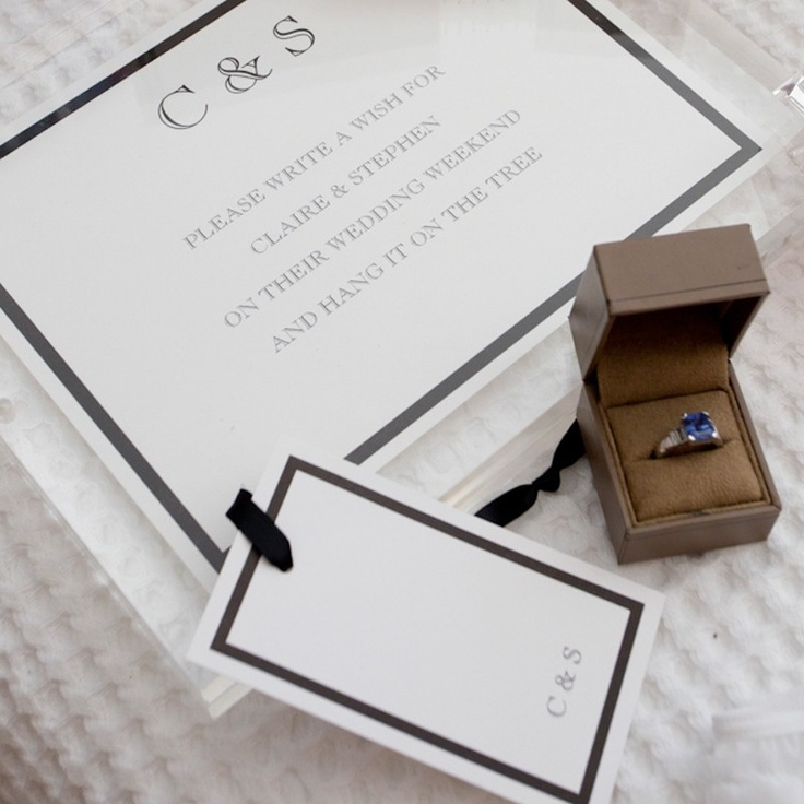 Claire and Stephen Stationery by Papier d'Amour