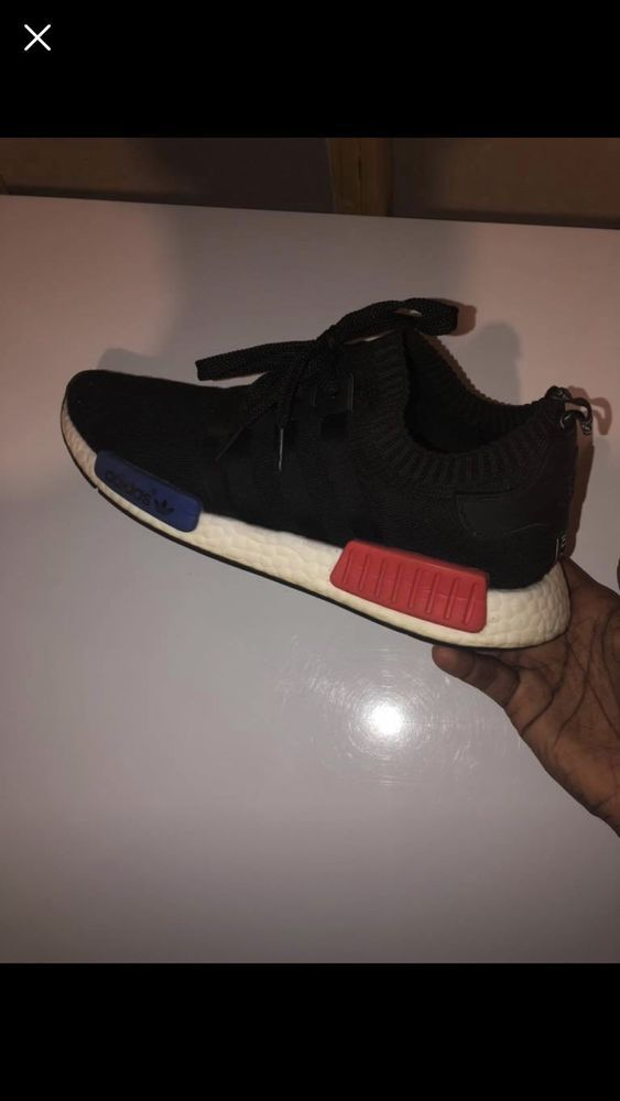 attuatore Specializzarsi spedizione  ADIDAS NMD_R1 PK OG 2017 Boost Runner S79168 US 10 BLACK/RED/BLUE DS 100%  legit #fashion #clothing #shoes #accessories #mensshoes #ath… | Athletic  shoes, Adidas nmd