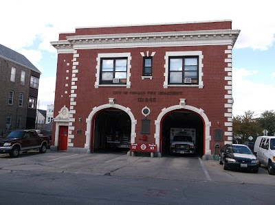 Filming Locations of Chicago: Backdraft, Main Firestation, 42nd Steet