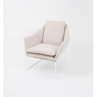 Middle of Nowhere Boden Armchair Light Beige :: Collections :: Crate Expectations :: Gifts & Homewares