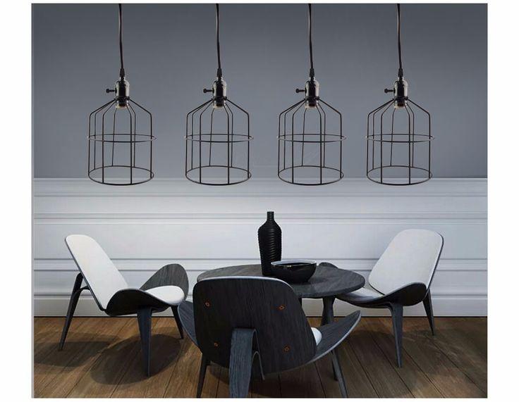 25 beste idee n over kooi licht op pinterest industri le verlichting hangende keuken - Licht industriele vintage ...
