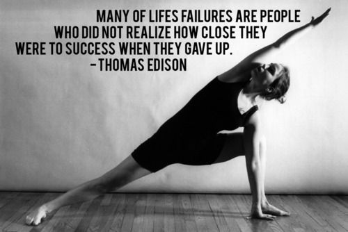 Love this quote by Thomas Edison