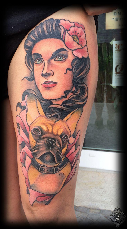Done at Eisenherz Tattoo und Piercing, Magdeburg.